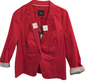 Outback Red And Smoke Red Blazer