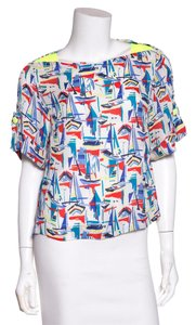 MILLY Top Multicolor