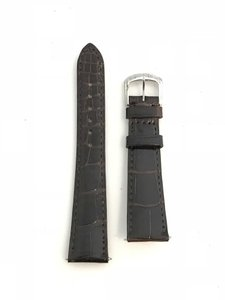 David Yurman David Yurman Glossy Alligator Leather Watch Strap