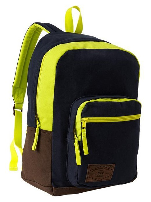 Item - Senior Boys School Weekend Travel Blue Galaxy Cotton Backpack
