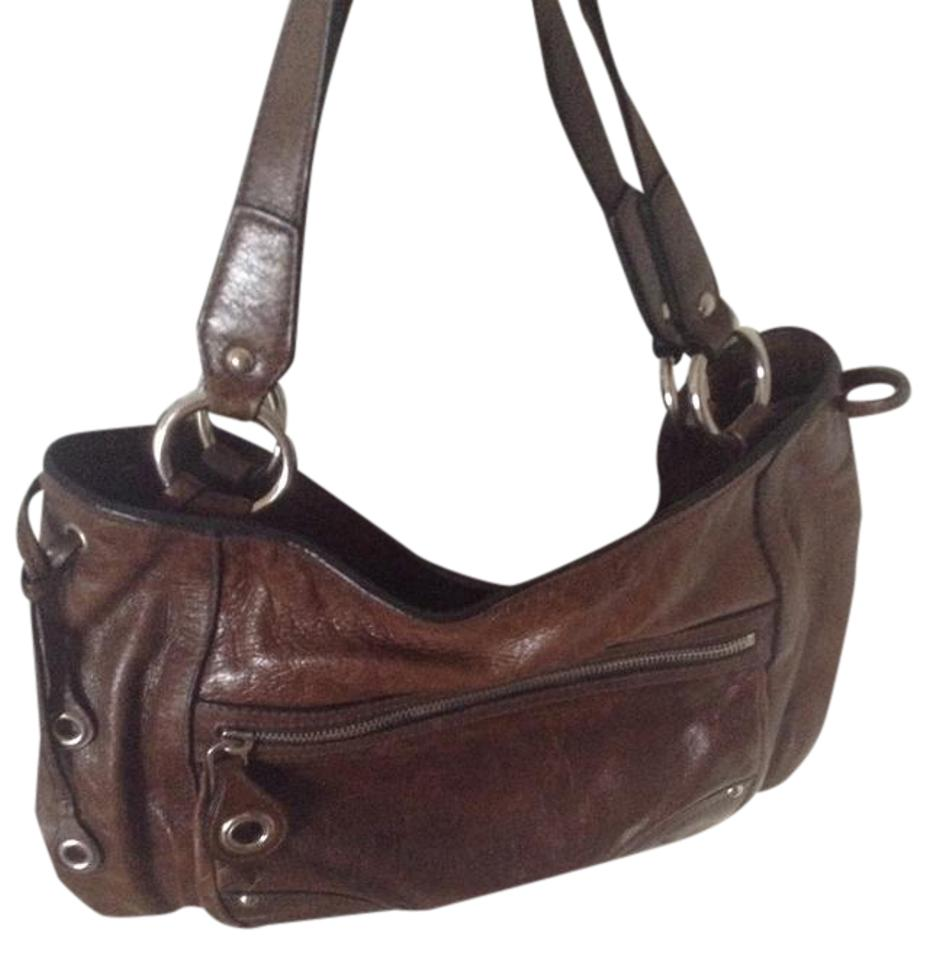 27956fd9be72 Prada The Car Shoe By Brown Leather Shoulder Bag - Tradesy