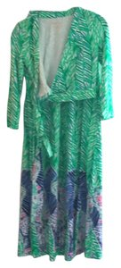 green Maxi Dress by Lilly Pulitzer