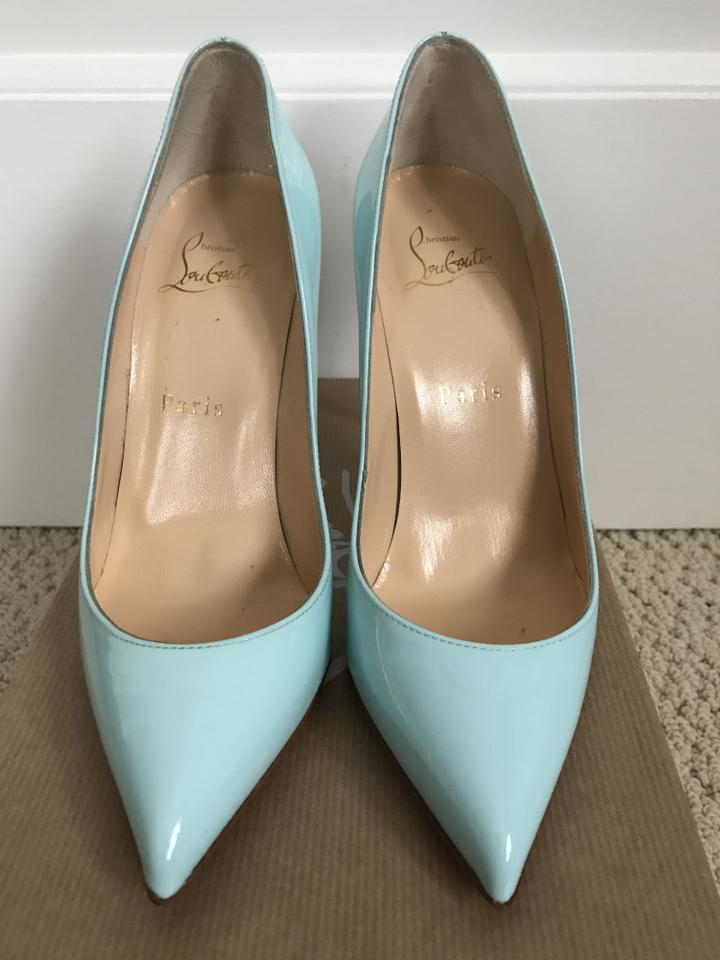 Christian louboutin light tiffany blue pigalle follies lt patent tiffany blue pumps 123456789101112 junglespirit Image collections