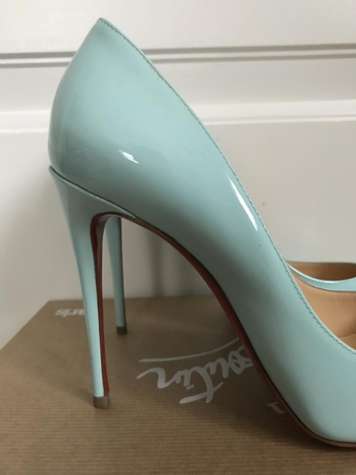 Christian louboutin light tiffany blue pigalle follies patent tiffany blue pumps 123456789101112 junglespirit Image collections