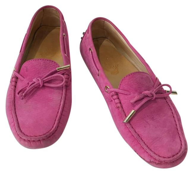 Item - Pink 'gommini' Moccasin Women Flats Size US 8