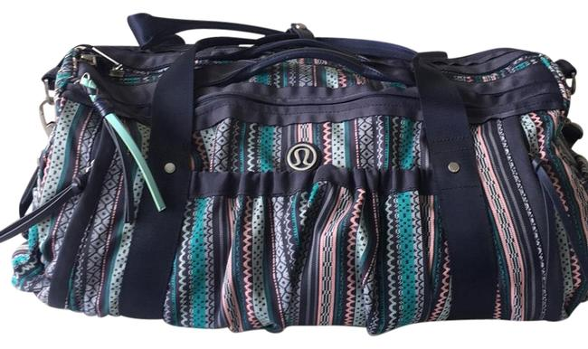 Item - Duffle Multicolor Canvas Weekend/Travel Bag