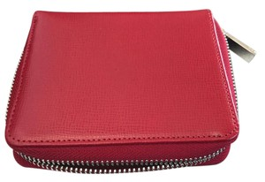 Brooks Brothers Zip Wallet All Leather