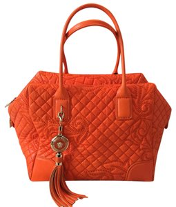 Versace Satchel in orange