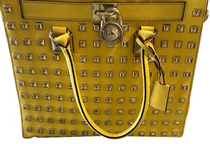 Michael Kors Collection Satchel in Yellow