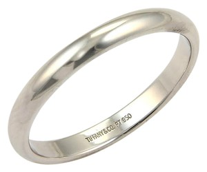Tiffany & Co. 15723 - Platinum Plain 3mm Wide Wedding Dome Band Ring - Size 11