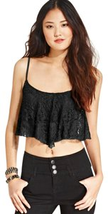 Material Girl Top Black