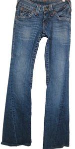 True Religion Joey Boot Cut Jeans-Distressed