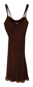 Muse short dress brown red on Tradesy