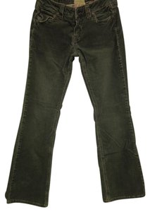 Marlow Jean Cord Boot Cut Pants green