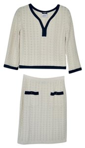 Chanel Chanel 2pc Skirt Dress Suit -Top size 34 - Skirt size 36