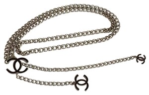 Chanel channel chain belt