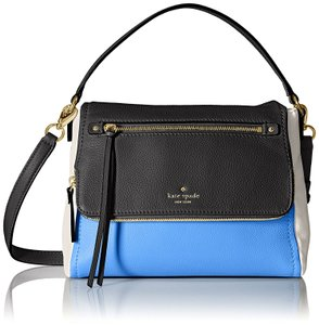 Kate Spade Cobble Hill Small Toddy Satchel Blue/Black 098689922157 Pxru6223 Cross Body Bag