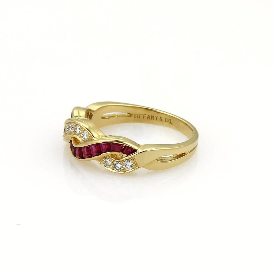 pav wedding de band classic pave half yellow bands db diamond beers infinity gold ring