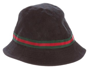 Gucci Black GG monogram canvas Gucci bucket hat XL