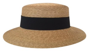 Patricia Underwood Patricia Underwood Boater Hat in Natural size M/L