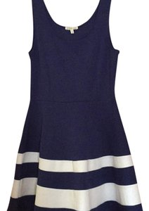 Charlotte Russe short dress Navy blue on Tradesy