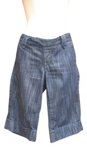 True Religion Bermuda Denim Cuffed Trouser Summer Shorts