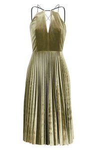 Taupe Maxi Dress by Topshop