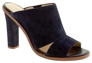 Banana Republic black Mules