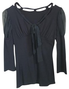 Arden B. Bow Top Black