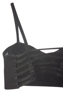Brandy Melville Strappy Top Black