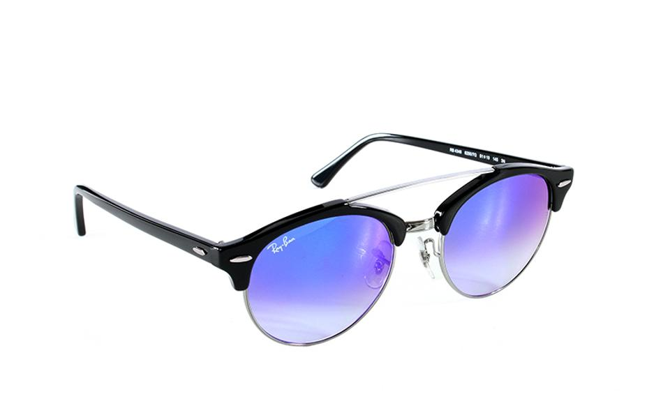 520926dd1cd Ray-Ban Ray-Ban Sunglasses Clubround Double Bridge RB4346 New in Case ...