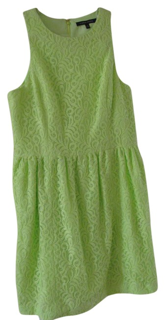 Item - Lime Green 83239371 Mid-length Work/Office Dress Size 12 (L)