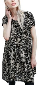Silence + Noise short dress Multi Urban Outfitters Short Subtle Print + on Tradesy
