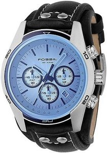 Fossil Fossil Sporty Leather Mens Watch Ch2564
