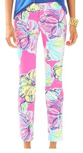 Lilly Pulitzer Ankle Floral Resort Skinny Pants multi