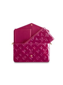 Louis Vuitton New Felicie Inserts Monogram Vernis leather