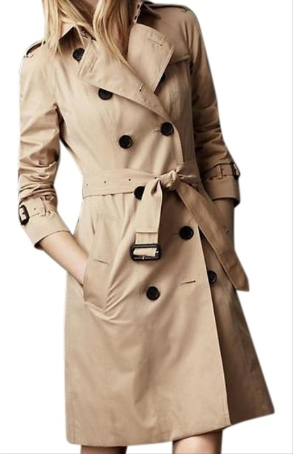 Item - Pink Trench In Baby Powder Coat Size 2 (XS)