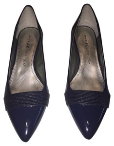 Anne Klein Navy Pumps