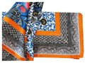 Etro NEW! 100% Silk Scarf Square Floral Multi-Color Milano Italy