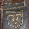 Seven7 Boot Cut Jeans-Medium Wash Image 4