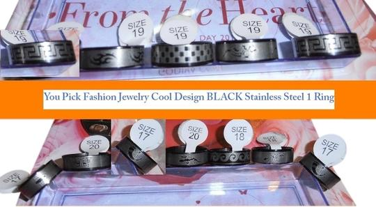 Preload https://item4.tradesy.com/images/black-silver-look-at-pictures-size-you-pick-one-fashion-cool-design-stainless-steel-ring-2145463-0-2.jpg?width=440&height=440