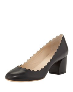 Chlo Lauren Scalloped Size 38 Chloe Scalloped Scalloped Chloe S Black Pumps