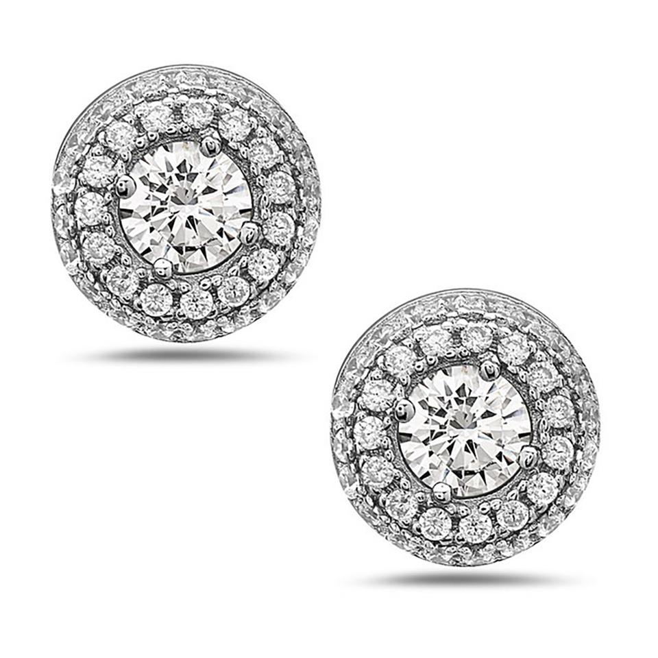 fancy s pave round and crushed pav women earrings elly crush white gold i diamond