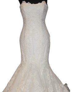 Enzoani Ivory Lace Dakota Traditional Wedding Dress Size 8 (M)