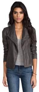 Vince Leather Suede Chic Moto Jacket