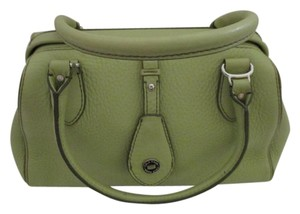5bcbbb71e2c Cole Haan Pebble Leather Green Satchel in Chartreuse
