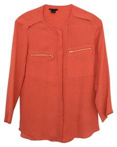 Theory Top green / coral