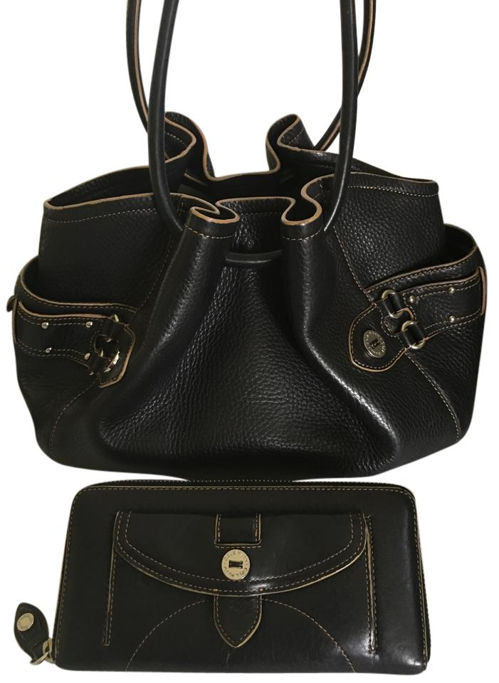 Cole Haan Drawstring Hobo Purse with Matching