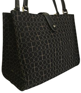 Kate Spade Quilted Noel Quilted Satchel Quited Tote in Black