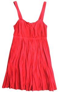 Urban Outfitters short dress red on Tradesy